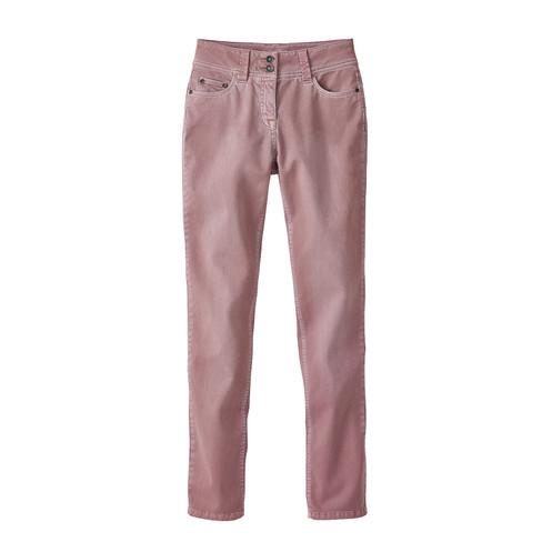 Jeans ´´Die Schmale´´ aus Bio Baumwolle, rosa 3...