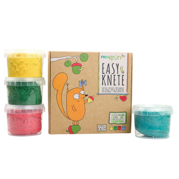 Easy-Knete, 4-er Set, Set 1