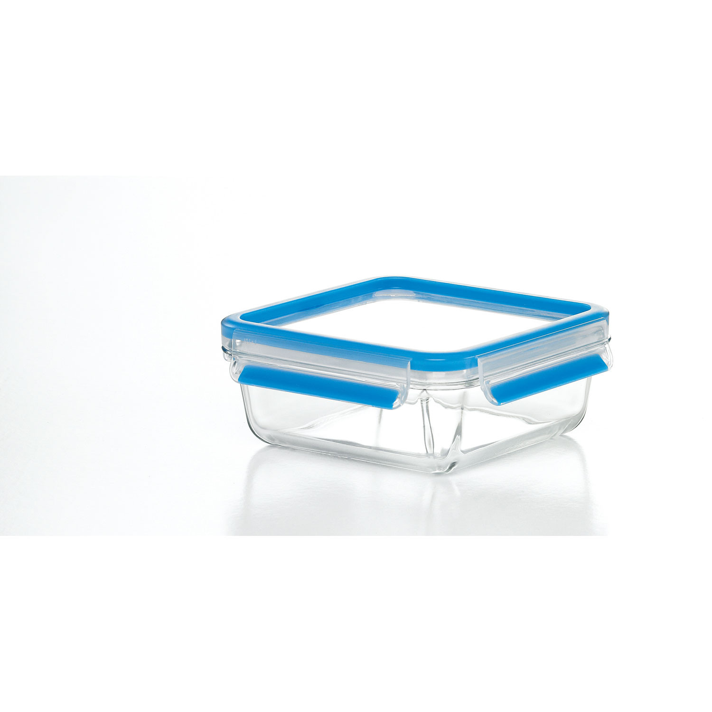 emsa glas clip close quadratisch blau. Black Bedroom Furniture Sets. Home Design Ideas
