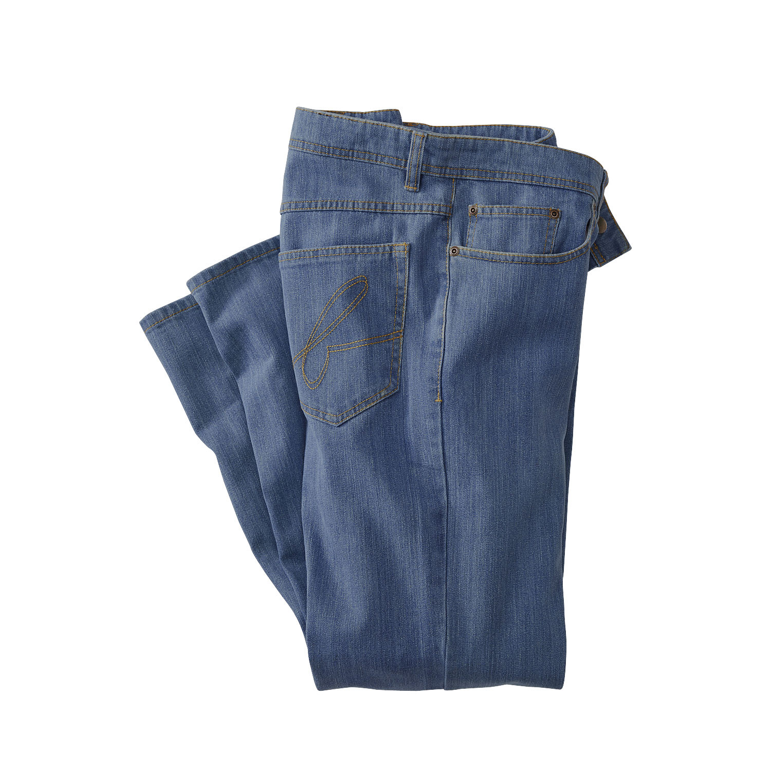 "Jeans ""BRAINED"", blue"