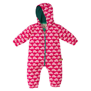 Baby-Outdooroverall, pink