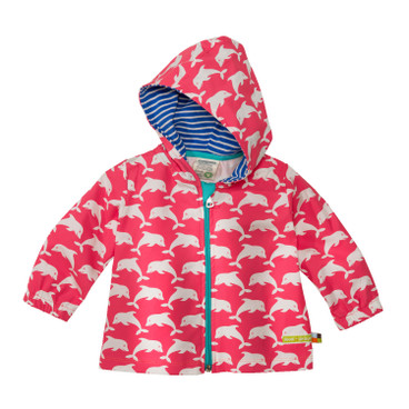 Baby-Outdoorjacke Bionic-Finish Eco, koralle