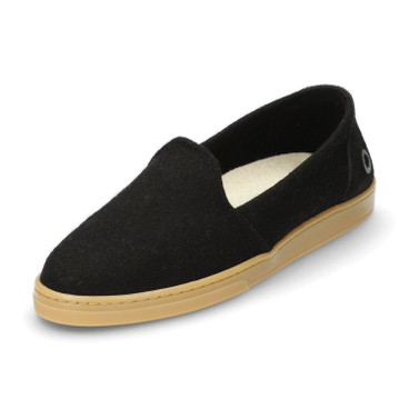 Slipper WOOL LOAFER, Schwarz