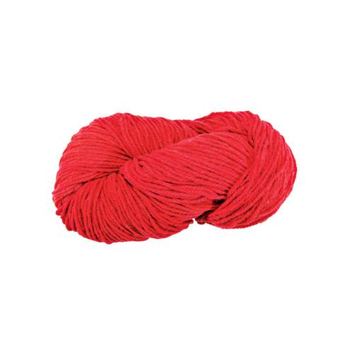 Strickwolle, rot 5 - broschei