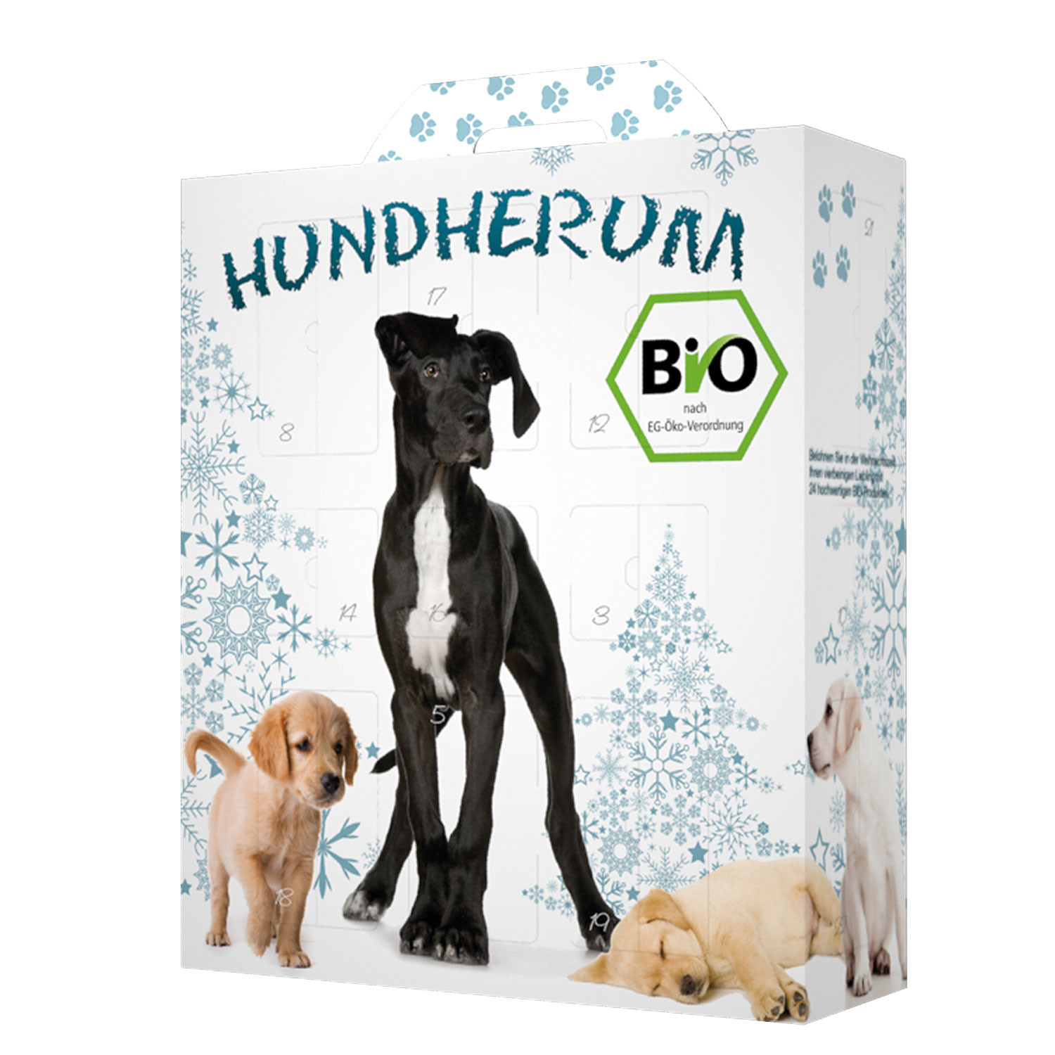 bio adventskalender f r hunde. Black Bedroom Furniture Sets. Home Design Ideas