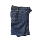 "Jeans Bermuda ""BRIGHTON"", midnight-blue"