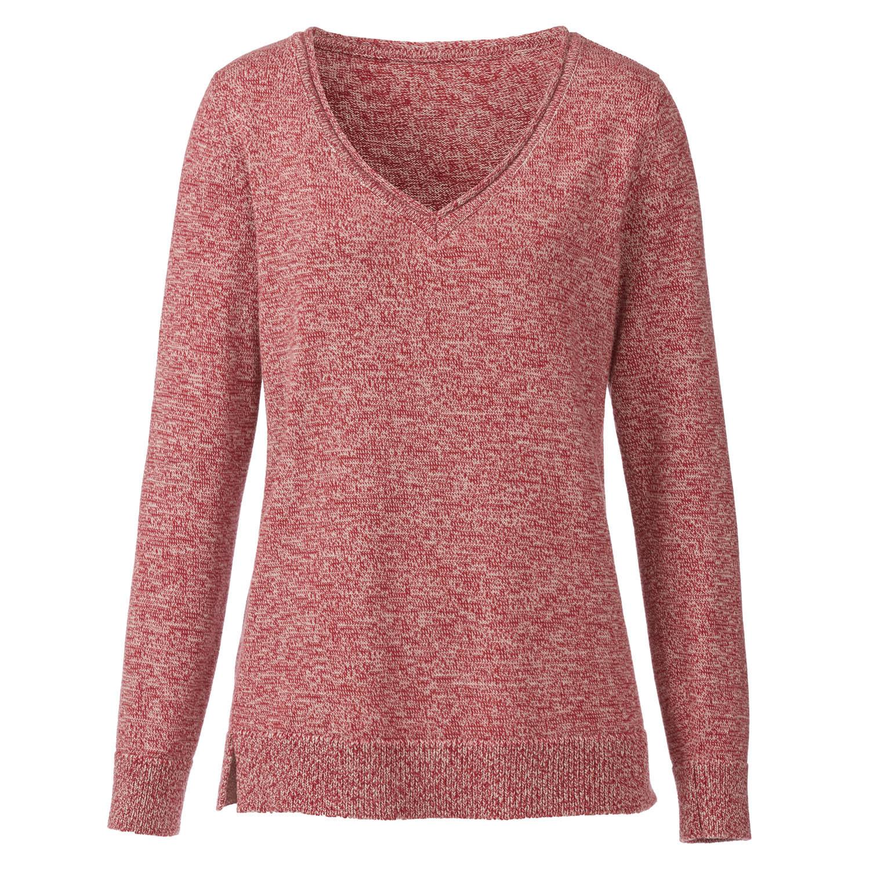 Pullover, himbeere-melange from Waschbär