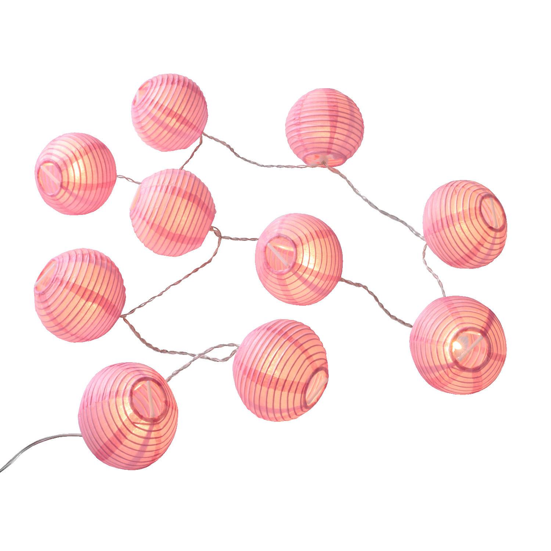 led lampion lichterkette rosa. Black Bedroom Furniture Sets. Home Design Ideas