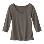 RH-Shirt 3/4-Arm, taupe