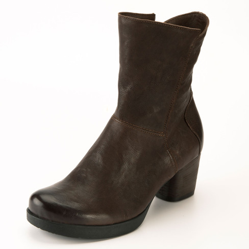 "Stiefelette ""Drawi"", mocca"