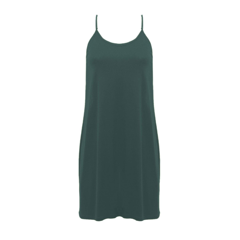 Seidenunterkleid und Nachthemd, smaragd from Waschbär