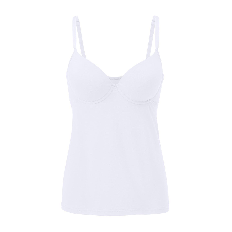 BH-Hemd aus Bio Baumwolle mit Schale, weiß from Waschbär
