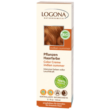 Pflanzenhaarfarbe Color Creme, 150 ml, indian summer