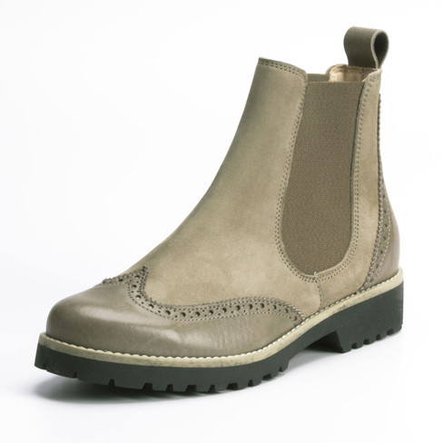Chelsea-Boot, sand 40
