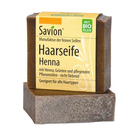 Haarseife Henna, 85 g