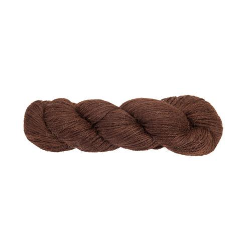 Strickwolle, naturbraun 3 - broschei