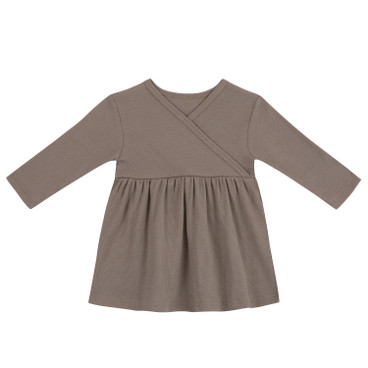 Baby-Kleid, taupe