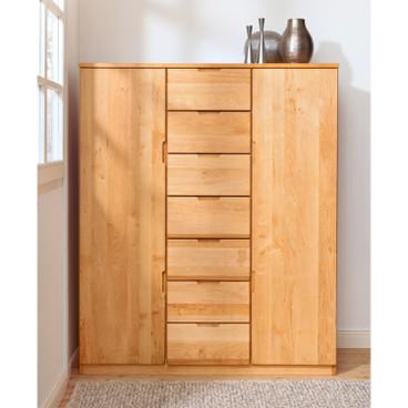 schlafzimmer holz regale schr nke und mehr waschb r. Black Bedroom Furniture Sets. Home Design Ideas