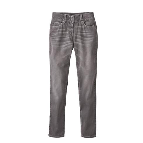 Jeans ´´Die Schmale´´ aus Bio Baumwolle, grau 4...