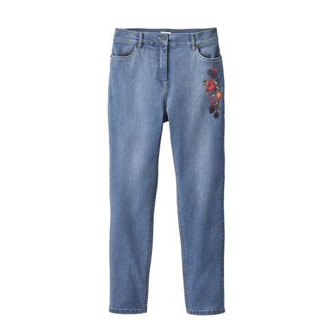 Boyfriend-Jeans aus Bio Baumwolle, lightblue 42