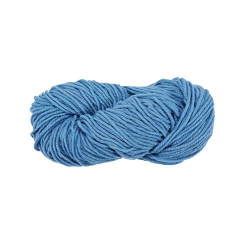 Strickwolle, blau 5 - broschei