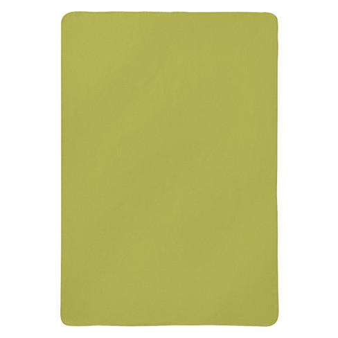 Flanell-Decke, grün 75 x 100 cm