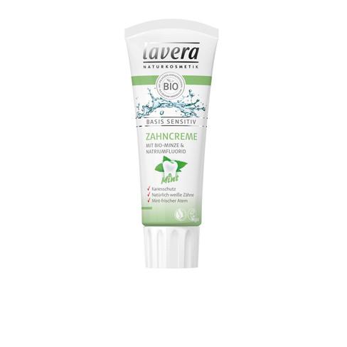 Basis Sensitiv Zahncreme Mint, 75 ml