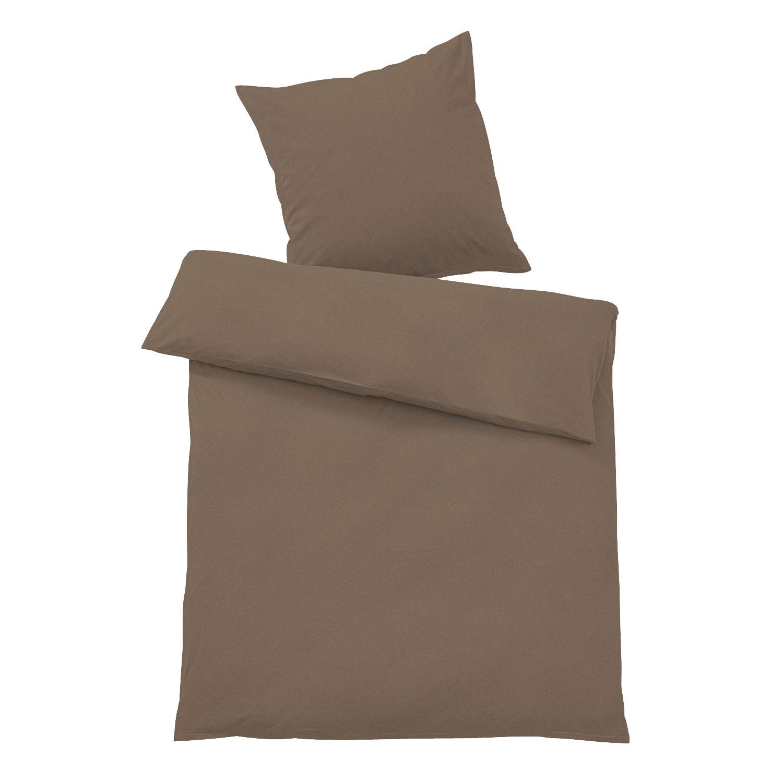 bettw sche jersey braun my blog. Black Bedroom Furniture Sets. Home Design Ideas