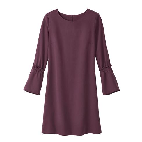 4d31281ae433 Enna Kleid aus TENCEL®, bordeaux   Waschbär