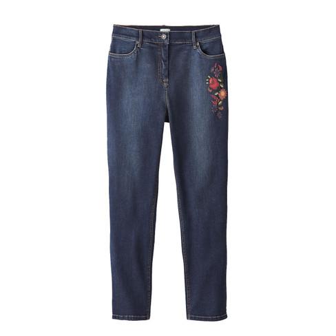 Boyfriend-Jeans aus Bio Baumwolle, darkblue 38