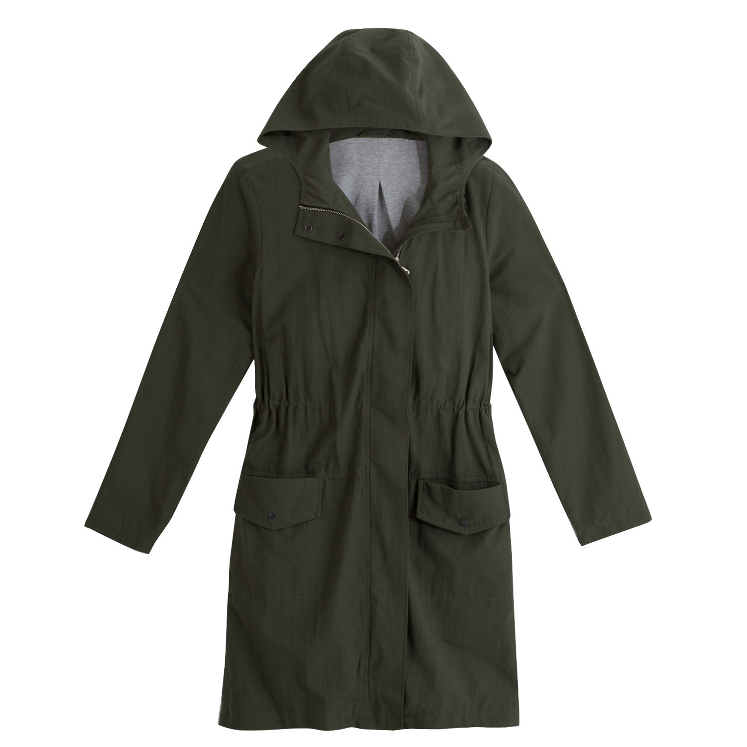 Parka, jungle green
