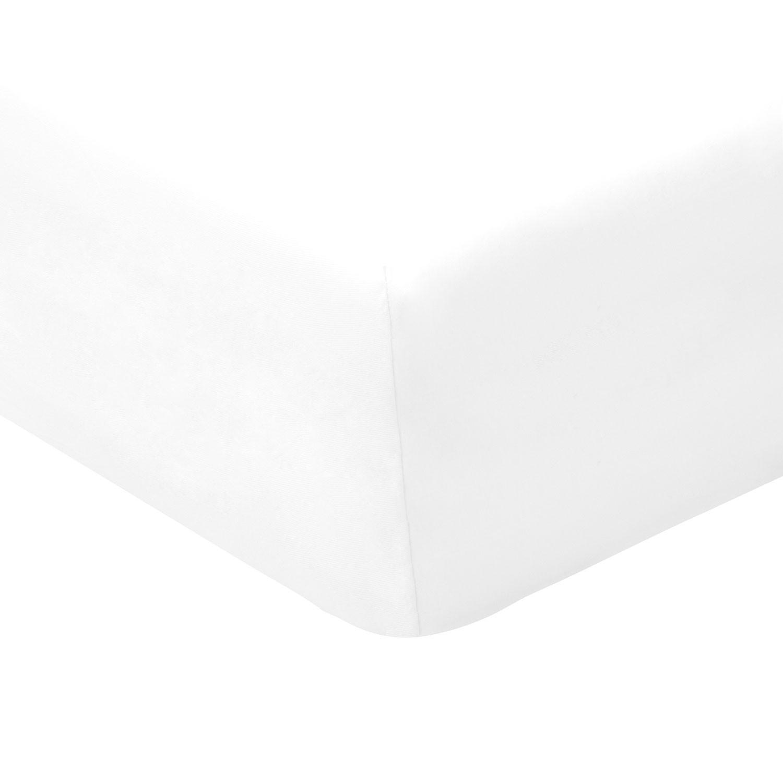bio jersey elastik spannbetttuch f r wasserbetten wei. Black Bedroom Furniture Sets. Home Design Ideas