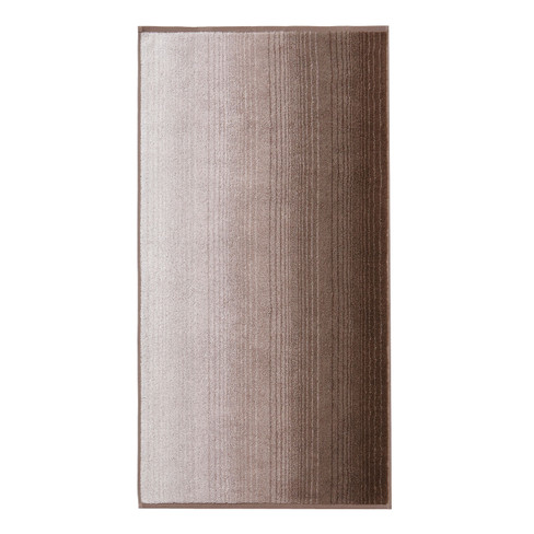 Bio-Handtuch, 2er Set, taupe 50 x 100 cm