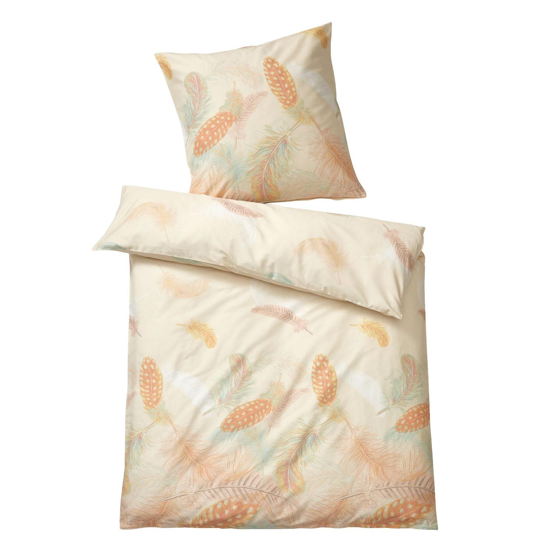 bio biber bettw sche garnitur 2 tlg vanille pastell. Black Bedroom Furniture Sets. Home Design Ideas