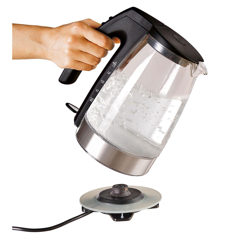 wasserkocher unold glas