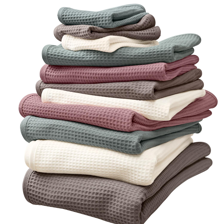 waffelpique handtuch
