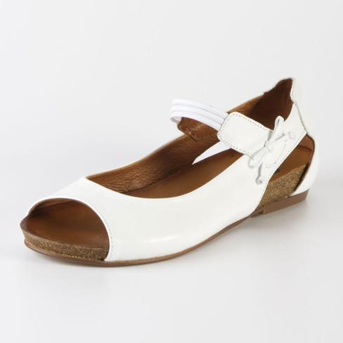 Sandale, weiß 42