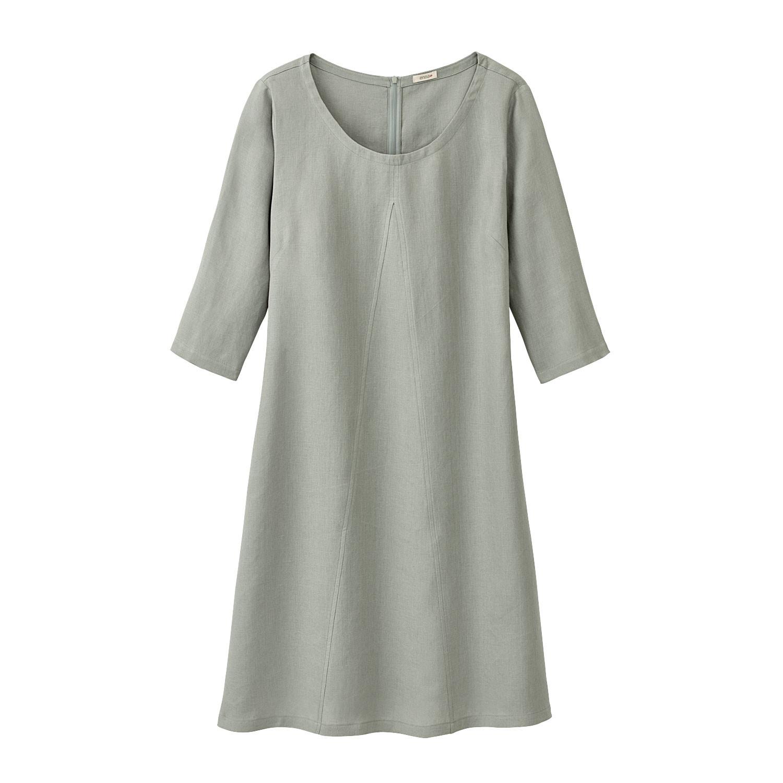 A Linie-Kleid aus Leinen, schilf from Waschbär