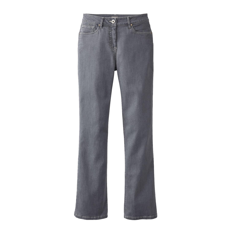 Bio-Jeans mit Bootcut, grey from Waschbär