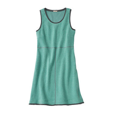 Fleece-Kleid, jade