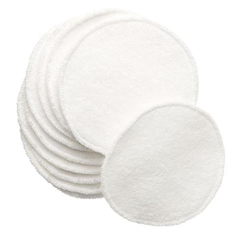 Öko-Reinigungs-Pads, weiß (Frottee)