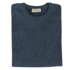 Pullover, jeans-meliert