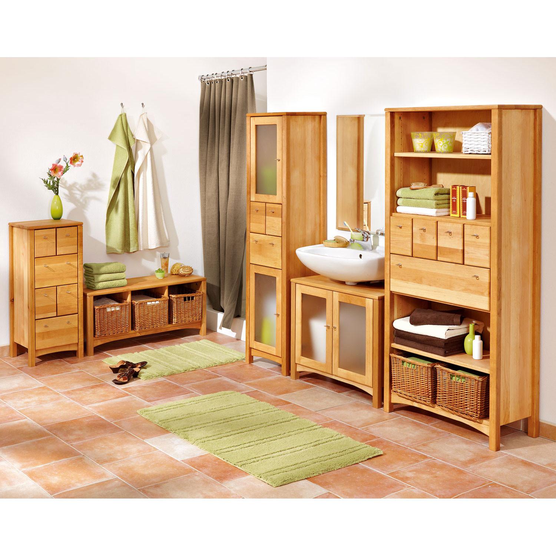 hochschrank schmal aus erlenholz. Black Bedroom Furniture Sets. Home Design Ideas