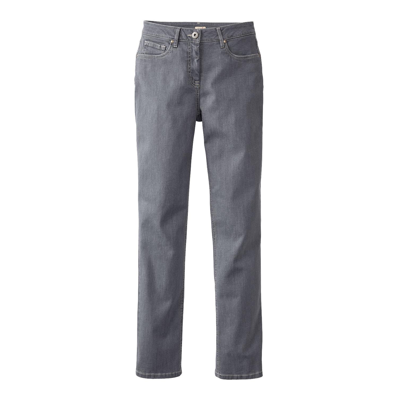 """Bio-Jeans """"die Gerade"""", grey from Waschbär"""