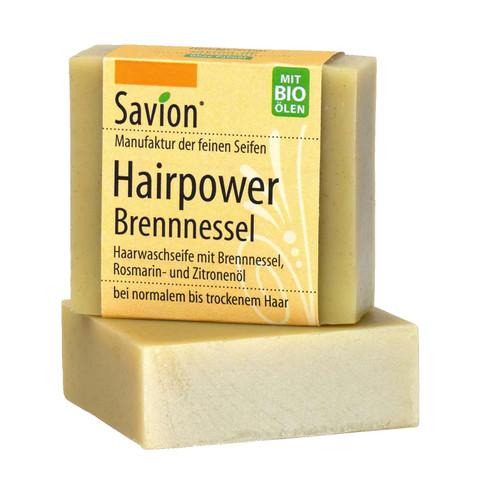Haarseife Hairpower Brennnessel, 85 g