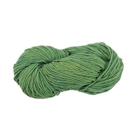 Strickwolle, grün 5 - broschei