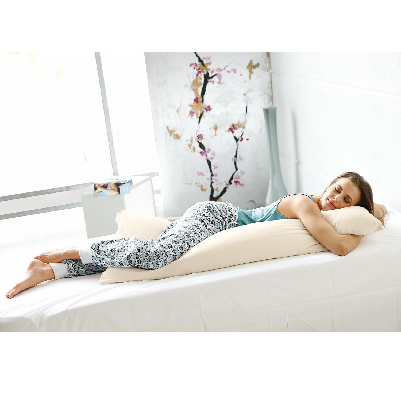 traumina bio kissenbezug f r seitenschl ferkissen naturbelassen. Black Bedroom Furniture Sets. Home Design Ideas