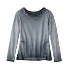 Sweatshirt 1/1A,schiefer
