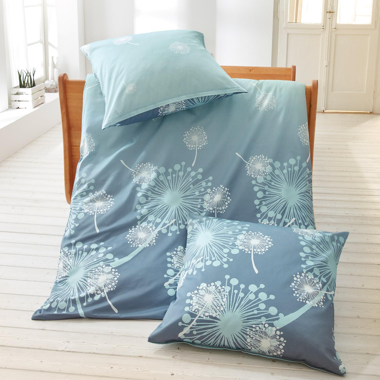 renforc bettw sche garnitur 2 tlg rauchblau. Black Bedroom Furniture Sets. Home Design Ideas