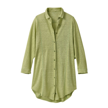 Oversized-Shirt, avocado